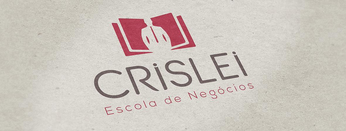 Foto de capa com a Identidade Visual da Crislei Escola de Negócios