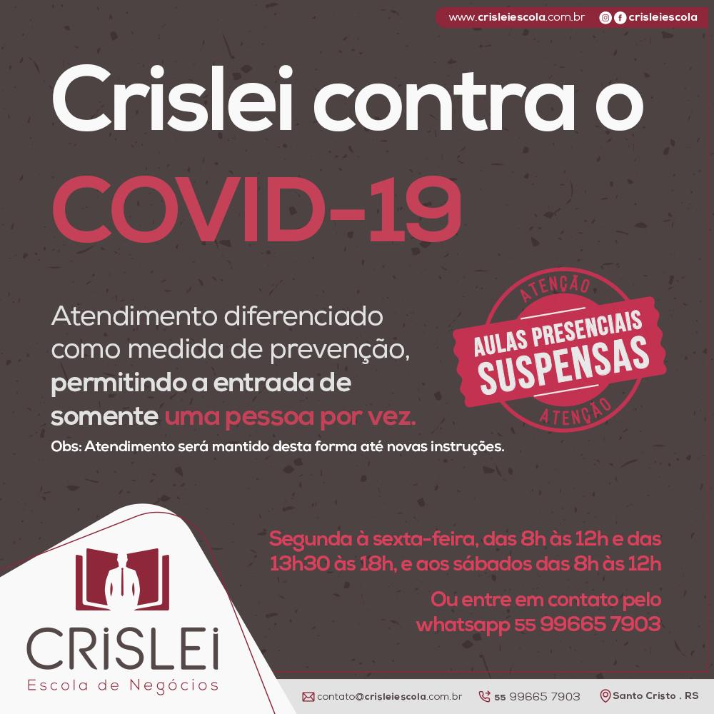Crislei contra o Covid-19