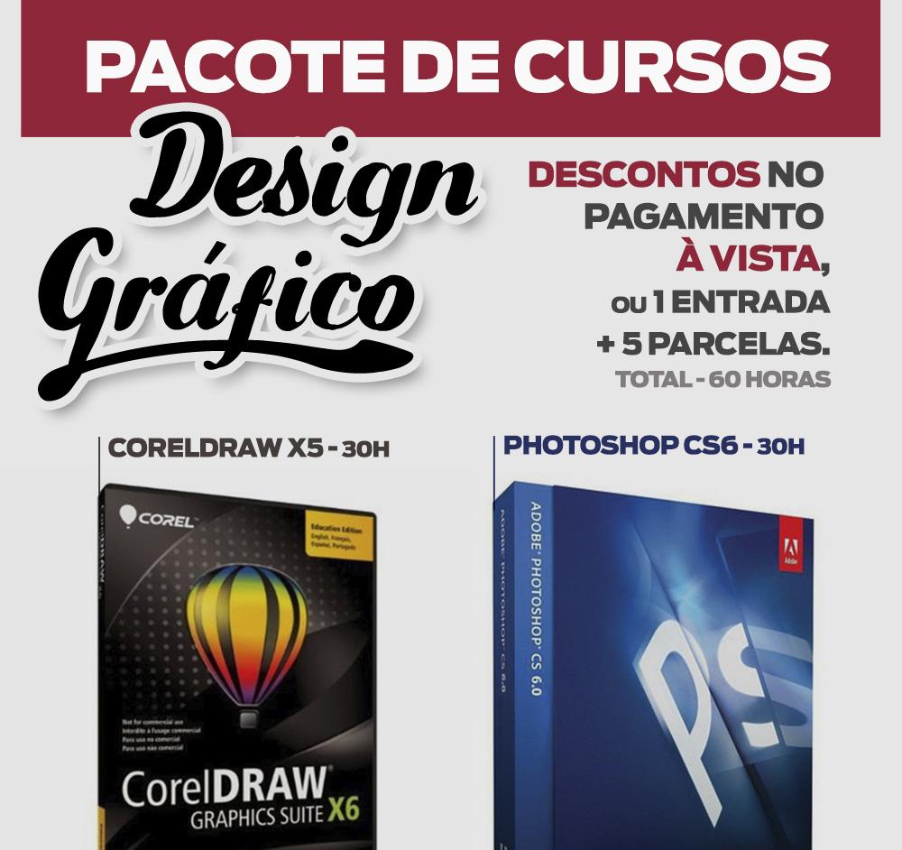 Pacote curso Design Gráfico